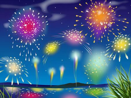 Firework 02 (disorderly strike)