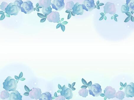 Rose Flower Blue