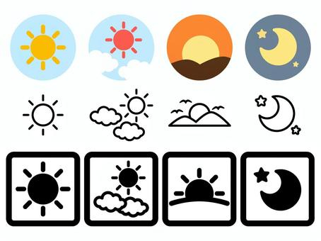 Morning_noon_evening_night_icon