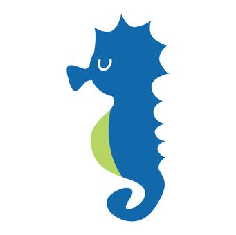 海馬(藍)