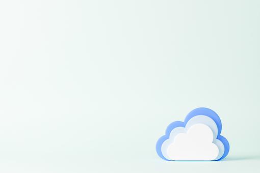 重疊的雲模型