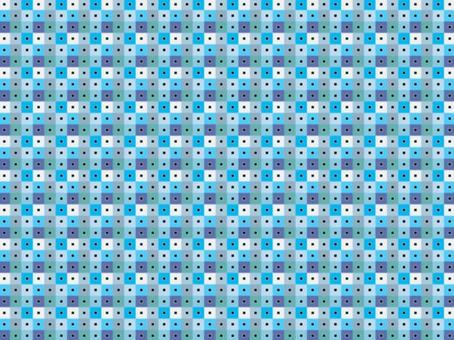 背景方形圖案8_blue