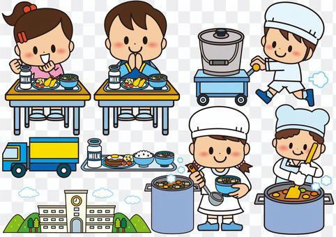 學校午餐小學