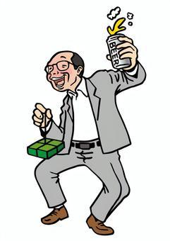 Salary man / drunkard