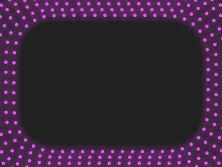 照明圓角框B:粉色