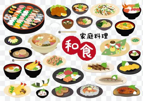 Japanese home cooking set