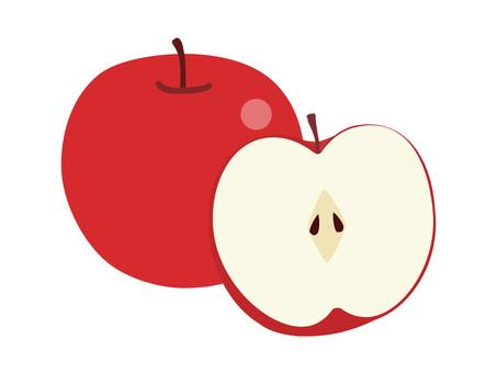 1_1個蘋果半