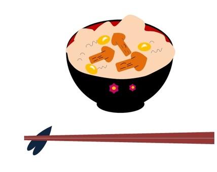 松茸香菇飯