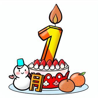 生日蛋糕一月