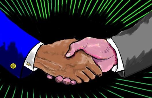 強大的握手