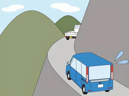 一個似乎看不見他父親的輕型卡車的面試小組