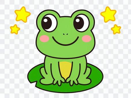 Frog illustration material_vector