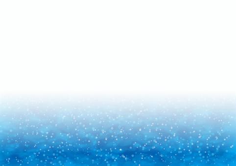 水 夏のイメージ ブルーのフレーム