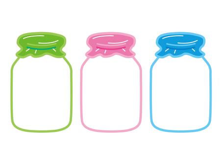 牛乳瓶_牛乳_フレーム_ミルク_セット