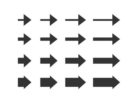Simple arrow variation set