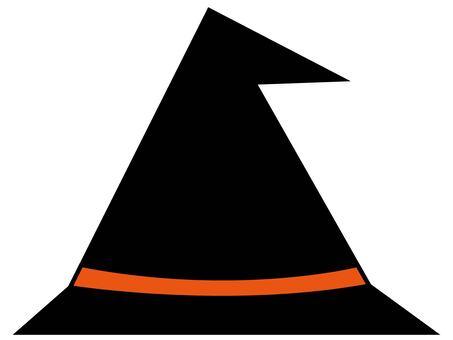 萬聖節帽子(橙色)
