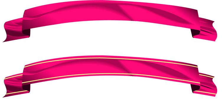 リボン 布 飾り 赤 タイトル