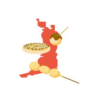 Gourmet in Osaka
