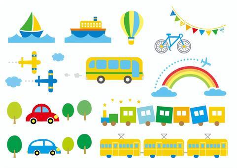 車輛_運輸夏天的顏色