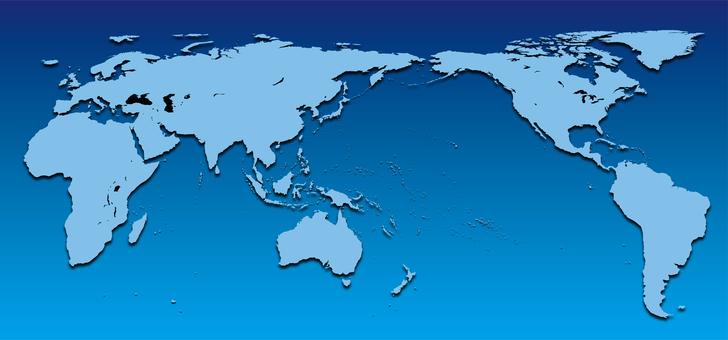 World Map_Asia Center