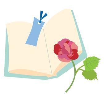 戴安娜·德·桑特·喬迪的書和玫瑰