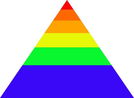 多彩的金字塔