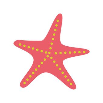 Red starfish 1