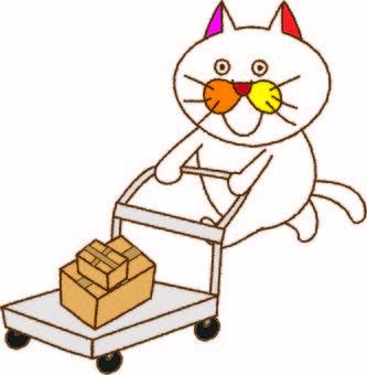 攜帶貓咪tamako的行李