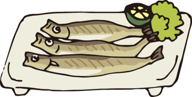 Fish (shrimp and grilled dish)