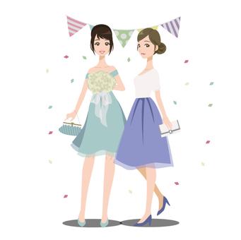 女子1花束
