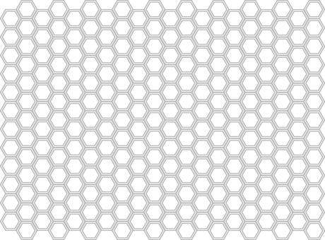 六角六邊形圖案矢量