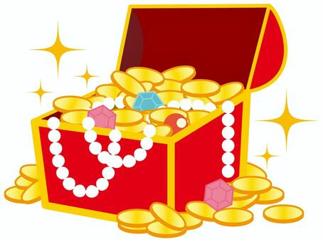寶箱和金幣