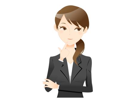 A suit woman 07