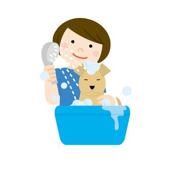 狗修剪洗髮水