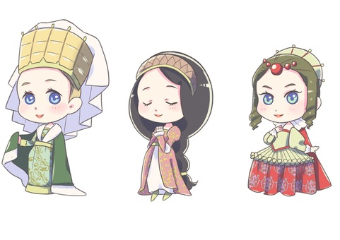 Western, medieval princess