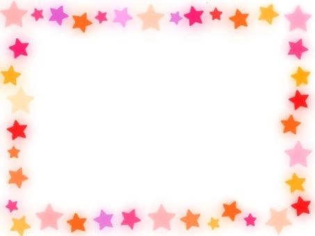 明星多彩幀粉紅色的主題演講