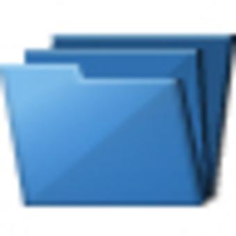 Folder icon (blue)
