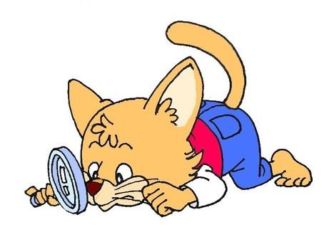 擬人化的貓姿勢圖