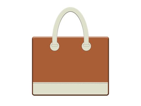 Leather bag 13-3 (Brown)