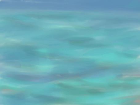 搖曳的水面精美
