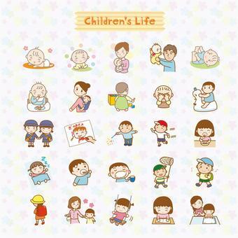 Child's illustration pack