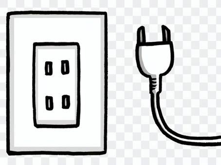 插座和電線
