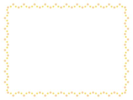 圓點框架003豎起黃色