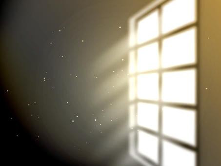 Windowside where light shines