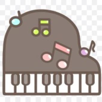 鍵盤鋼琴音樂筆記演奏