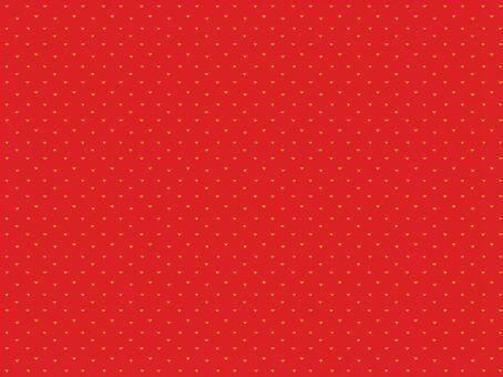 三角形圖案·紅色