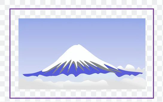 富士山背景/ 02