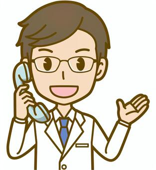 Male (doctor): A_phone 02BS