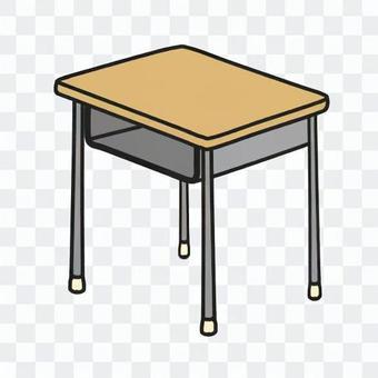 課桌(彩色)