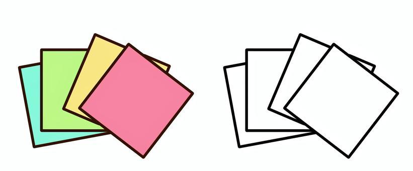 摺紙(無字母)